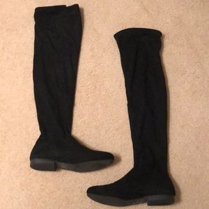 Lauren Conrad OTK Black Boots